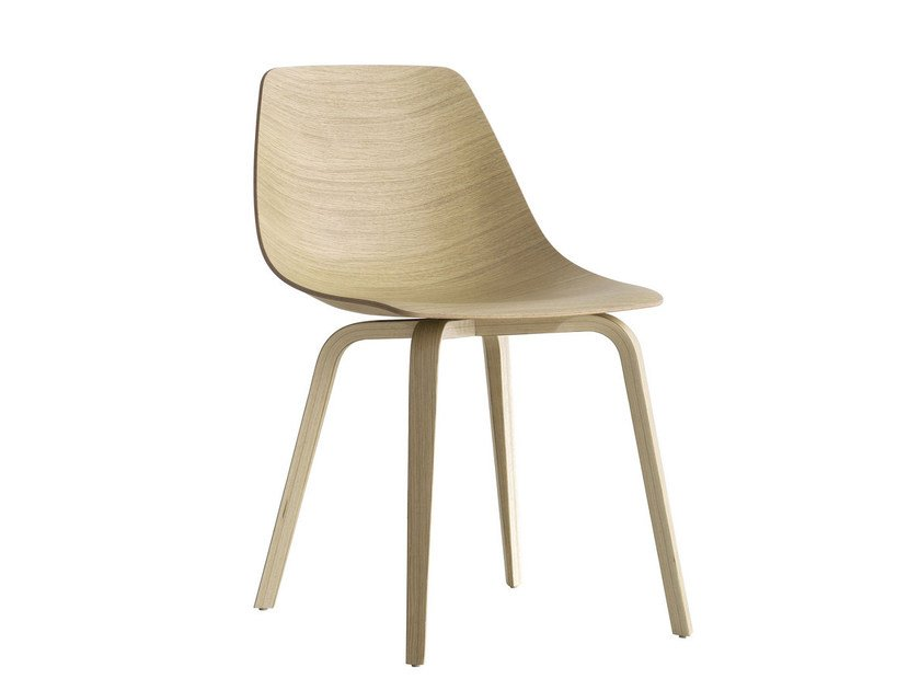 Multi-layer wood chair MIUNN | Multi-layer wood chair - Lapalma