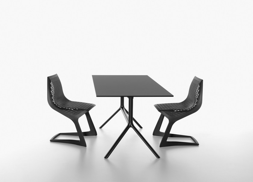 Folding rectangular table MIURA | Rectangular table by Plank