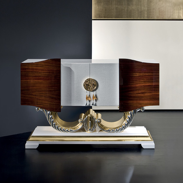 Wooden bar cabinet MK142 | Bar cabinet - Rozzoni Mobili d'Arte