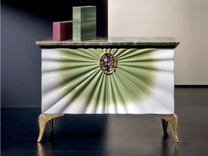 Lacquered rosewood dresser MK145 | Dresser - Rozzoni Mobili d'Arte