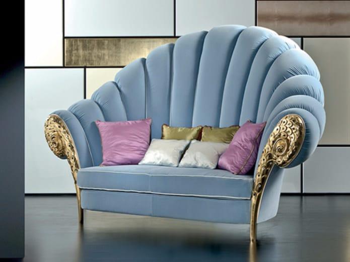Upholstered fabric sofa MK146 | Sofa - Rozzoni Mobili d'Arte