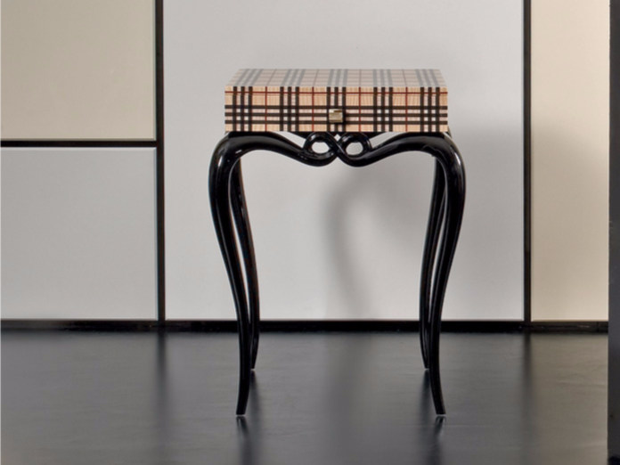 Lacquered high side table MK148 | Coffee table - Rozzoni Mobili d'Arte
