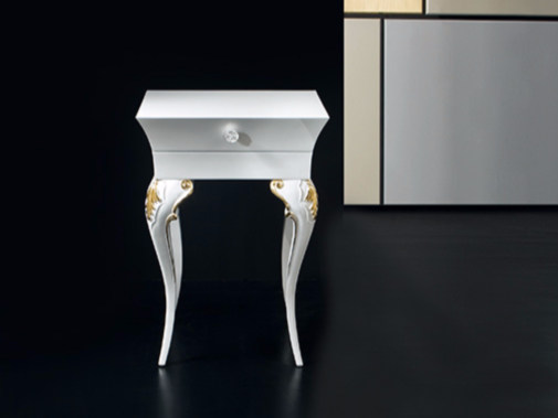 High side table with storage space MK151A | Coffee table - Rozzoni Mobili d'Arte
