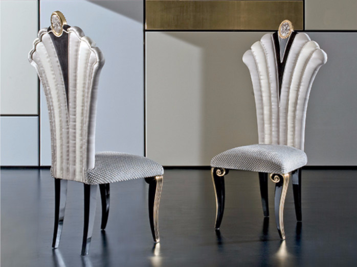 Upholstered fabric chair MK153 | Chair - Rozzoni Mobili d'Arte