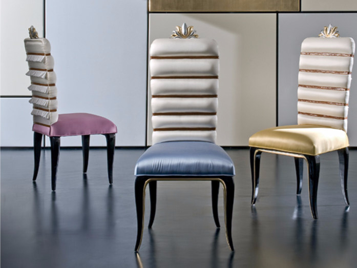 Upholstered fabric chair MK154 | Chair - Rozzoni Mobili d'Arte