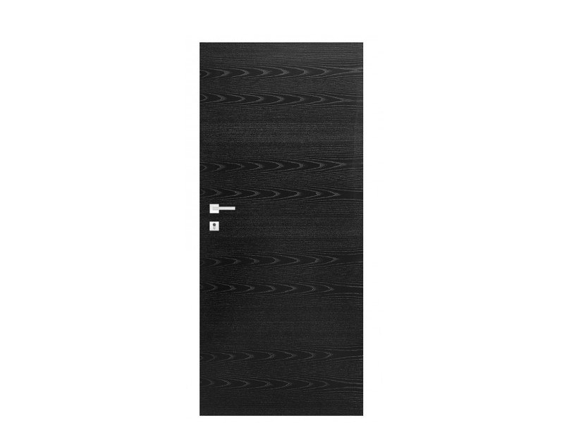 Door panel for indoor use TABULA ORIZZONTALE ASH RAL9005 - Metalnova