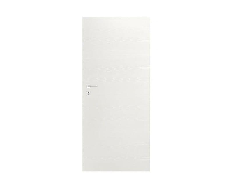 Door panel for indoor use TABULA ORIZZONTALE ASH RAL9010 - Metalnova