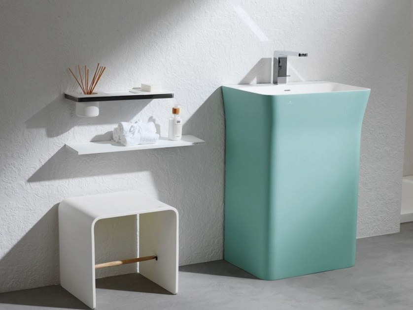 Lavabo singolo in Krion® MODUL | Lavabo by Systempool