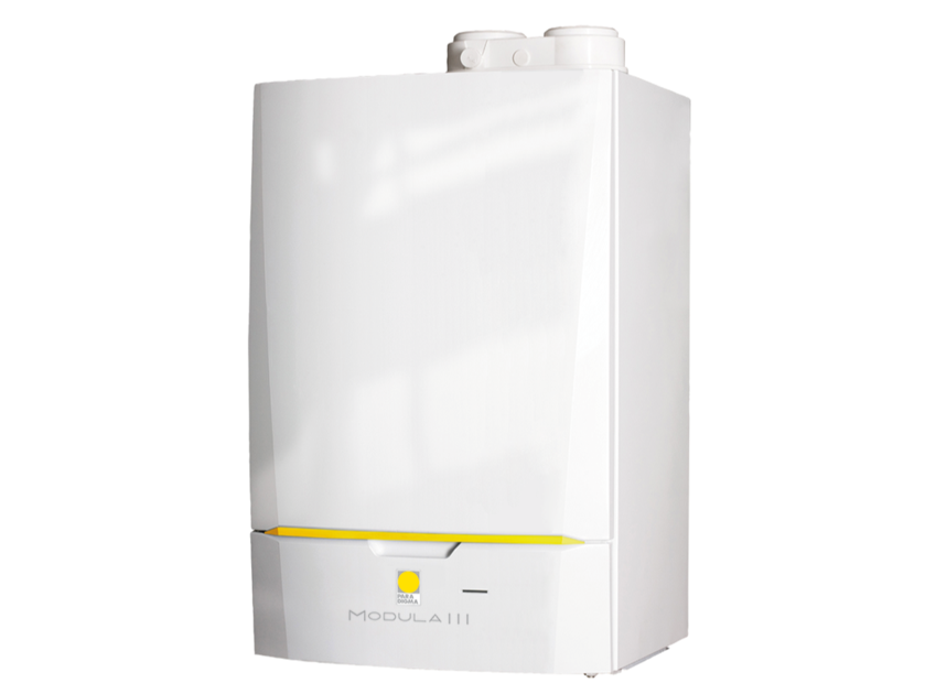 Gas wall-mounted condensation boiler MODULA III by Paradigma Italia