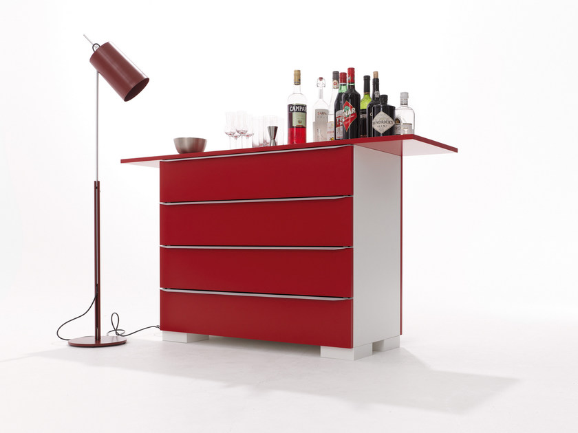 Lacquered chest of drawers MODULAR 16 | Chest of drawers - Müller Möbelwerkstätten