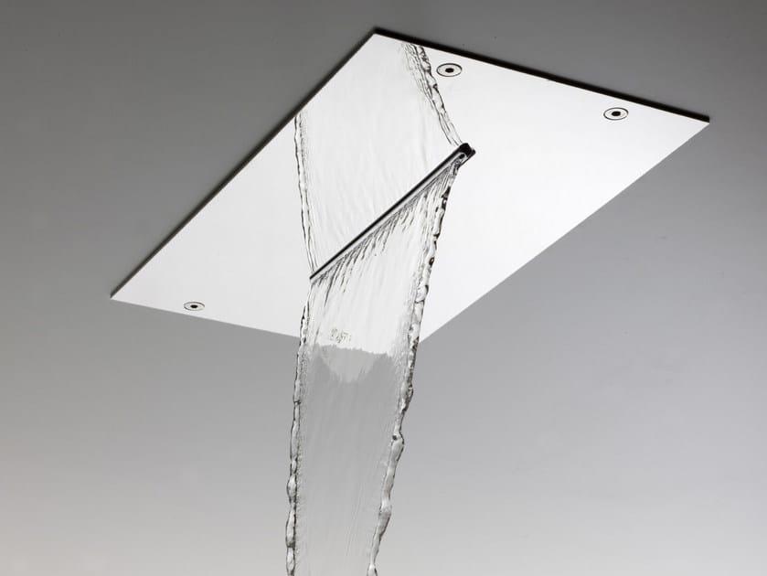 Soffione a cascata ultrapiatto in acciaio inox MODULAR F2810 - FIMA Carlo Frattini