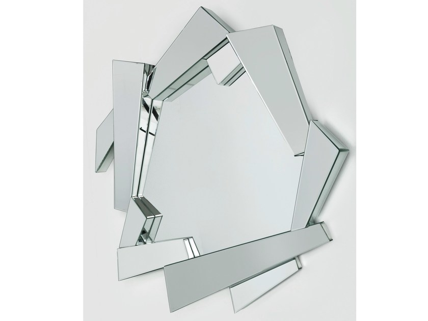 Wall-mounted framed mirror MODULE | Mirror - KARE-DESIGN