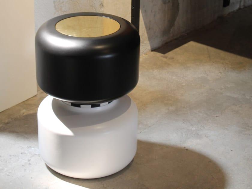 Resin stool / coffee table MODULE | Resin stool by Binome