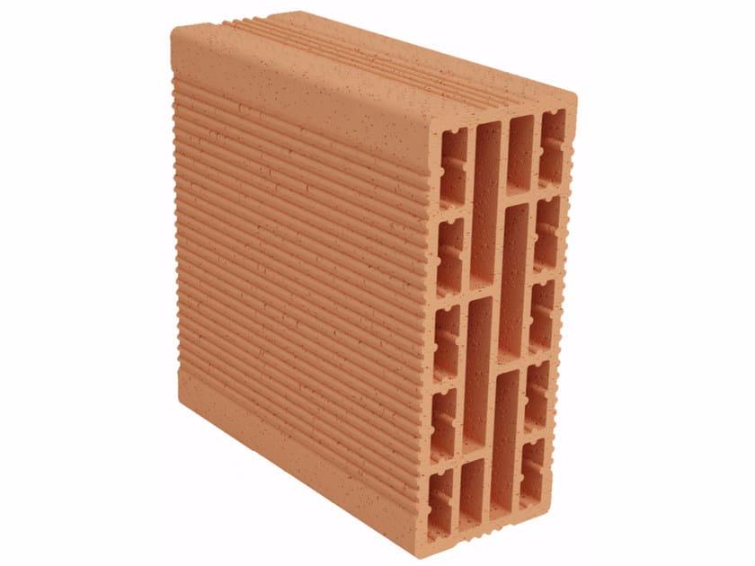 Clay building block Modulo FO MO100 by Fornaci Ioniche