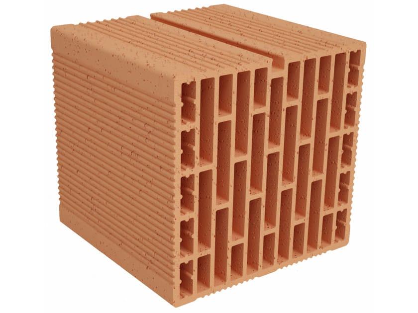 Clay building block Modulo FO MO250 by Fornaci Ioniche