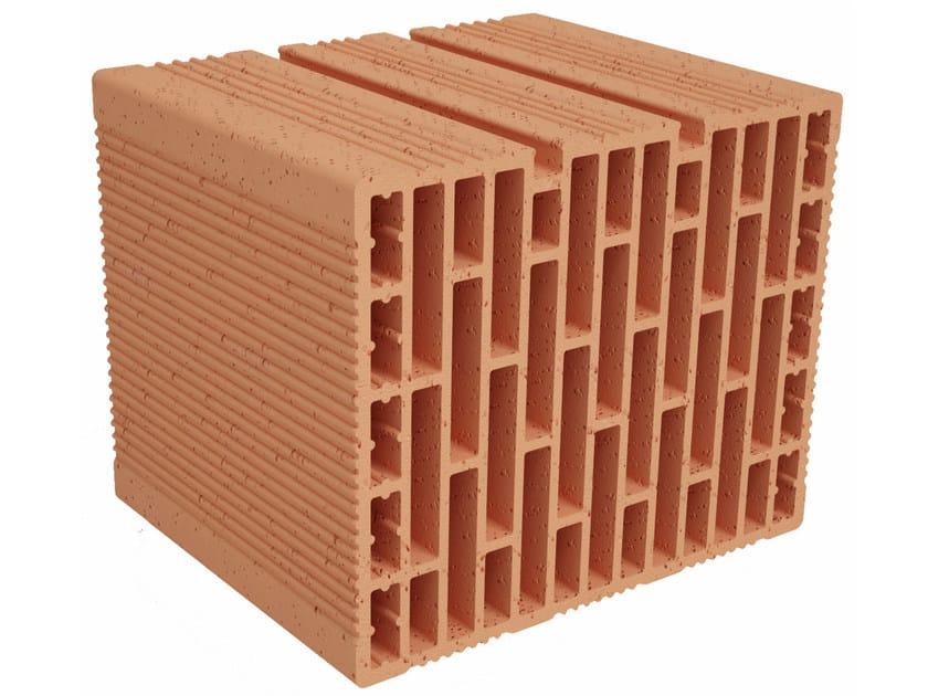 Clay building block Modulo FO MO300 by Fornaci Ioniche