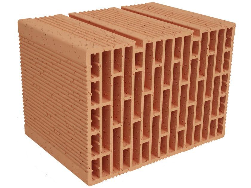 Clay building block Modulo FO MO350 by Fornaci Ioniche