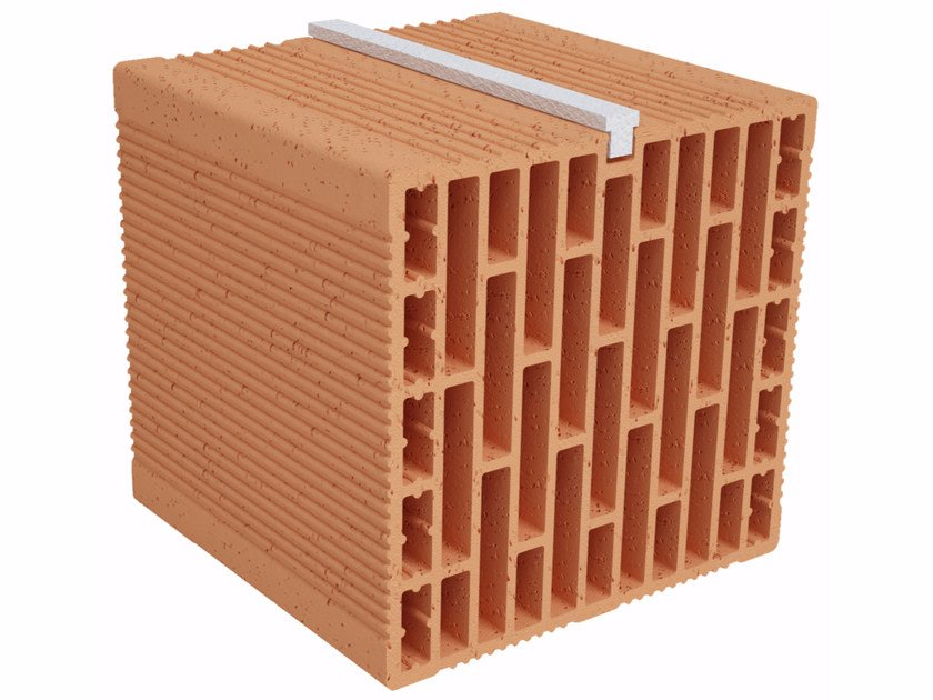Clay building block Modulo FO Plus MO250 plus by Fornaci Ioniche