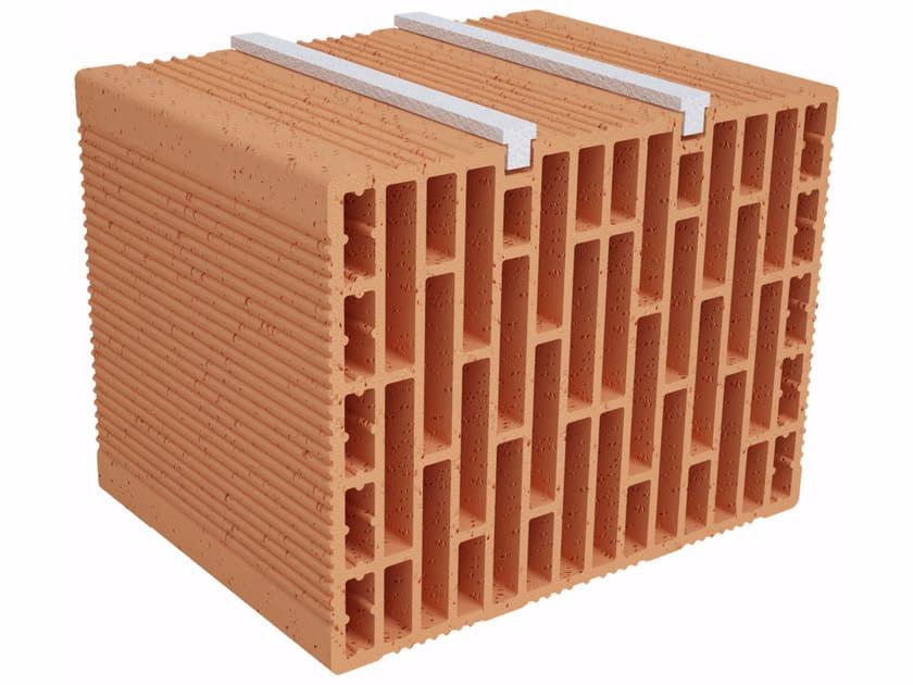 Clay building block Modulo FO Plus MO330 plus by Fornaci Ioniche