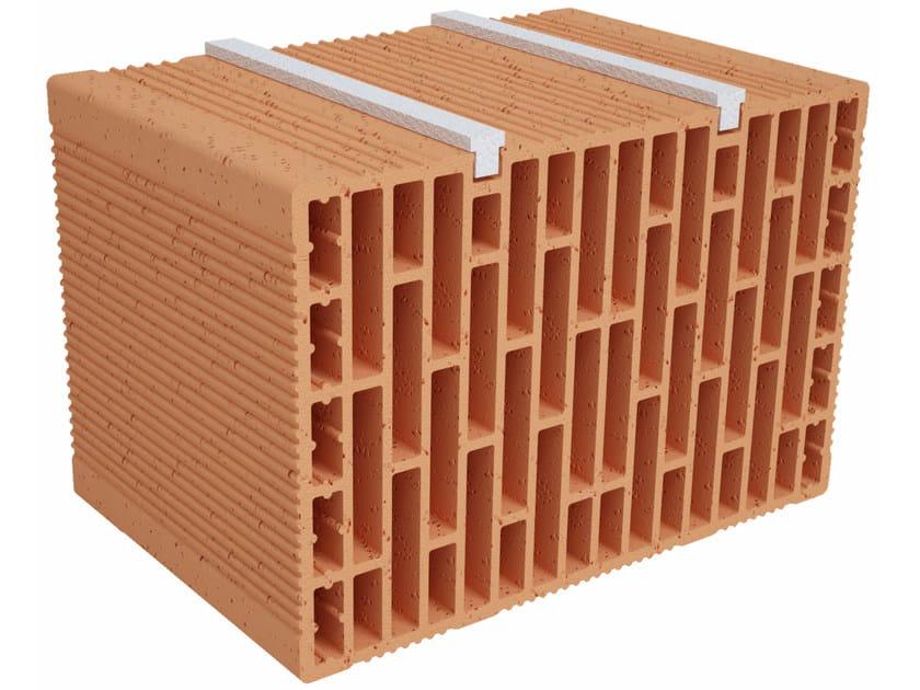 Clay building block Modulo FO Plus MO370 plus by Fornaci Ioniche