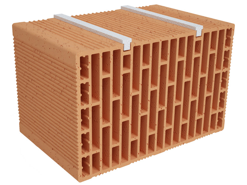 Clay building block Modulo FO Plus MO390 plus by Fornaci Ioniche