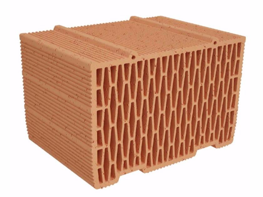 Clay building block Modulo FV FO MVI350 by Fornaci Ioniche