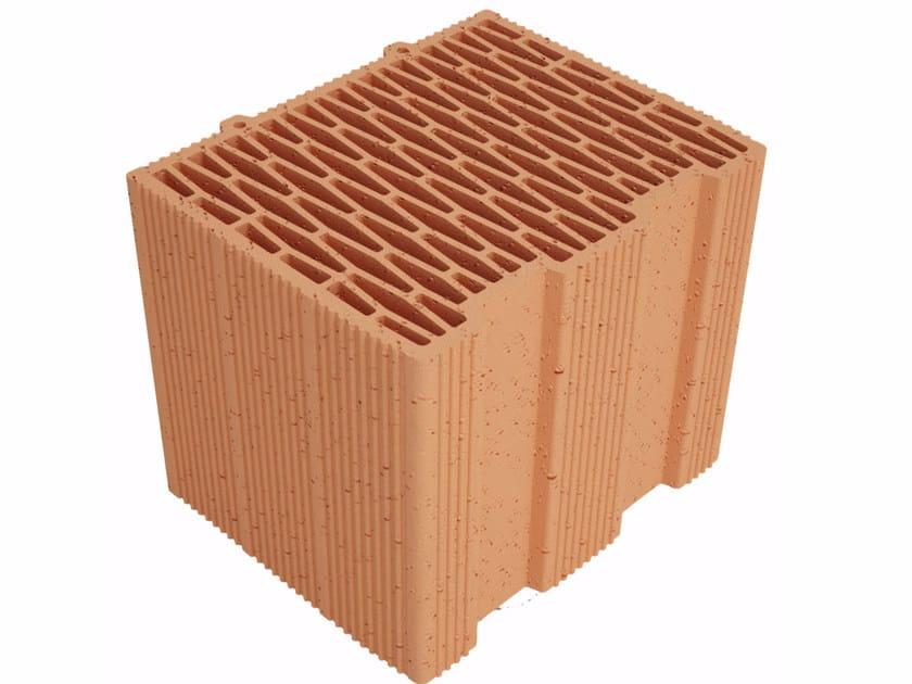 Clay building block Modulo FV MVI300 by Fornaci Ioniche