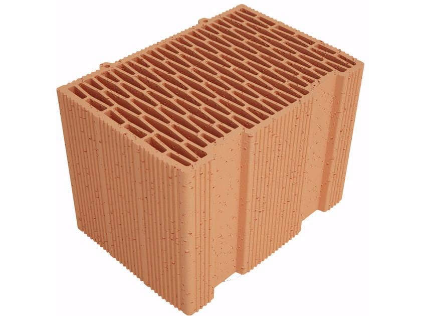 Clay building block Modulo FV MVI350 by Fornaci Ioniche