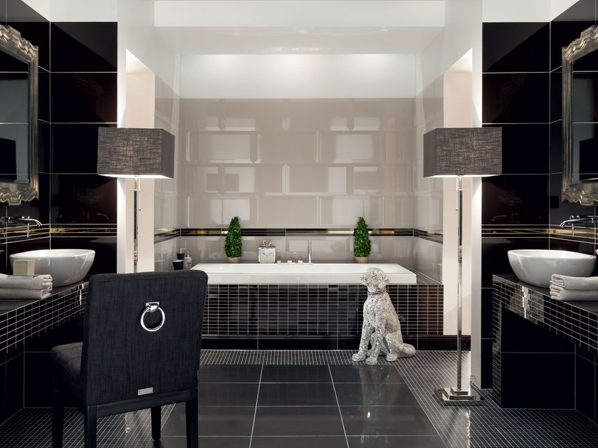 Indoor 3D Wall Cladding MONACO MONTE CARLO | 3D Wall Cladding by tubadzin