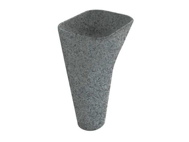 Pedestal slate washbasin MONOLITE | Slate washbasin - GALASSIA