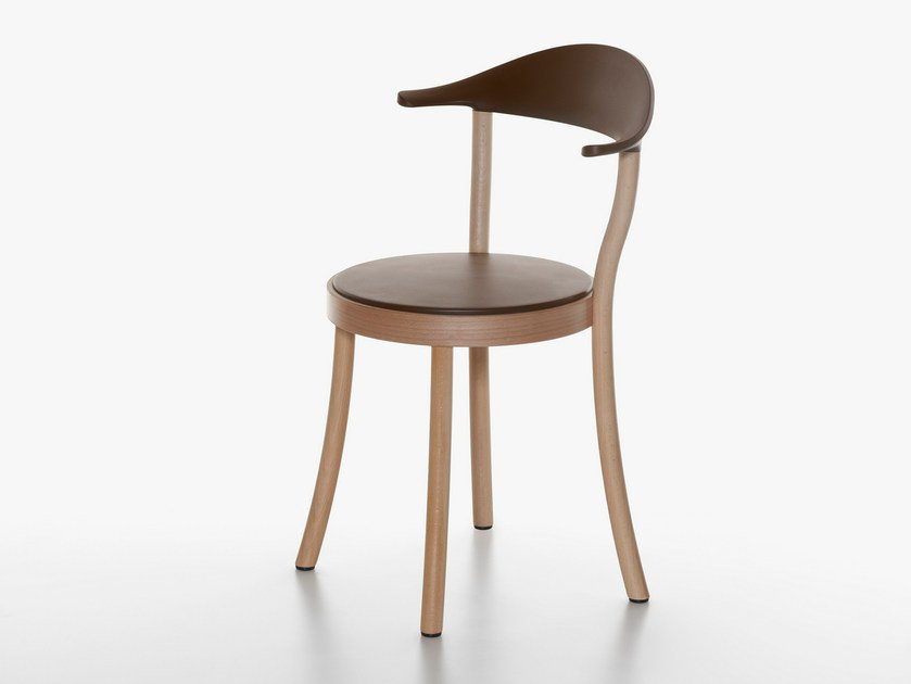 Beech restaurant chair MONZA | Chair by Plank