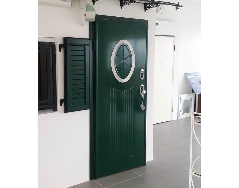 Aluminium door panel MOON/X - ROYAL PAT