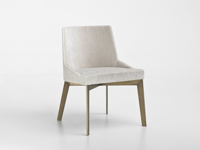 Upholstered fabric chair MOORE | Fabric chair - i 4 Mariani