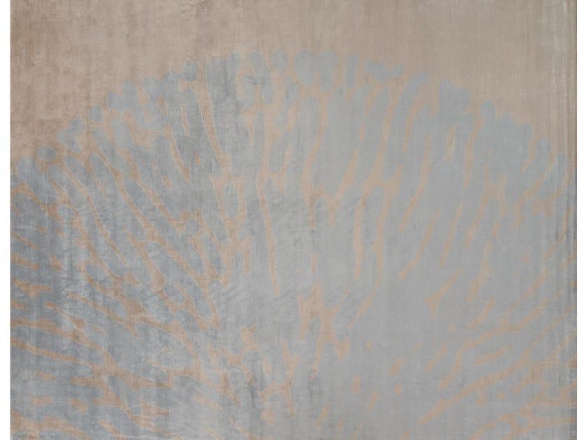 Handmade rug MOOREA CAMEL - EDITION BOUGAINVILLE