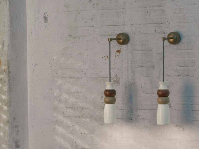 Direct light wooden wall lamp MORFEMA | Wall lamp - Karman