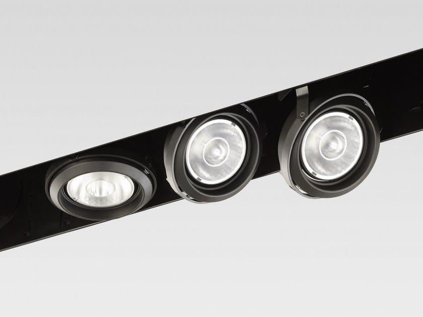 Adjustable recessed spotlight MOSAICO EASYIOS by Reggiani