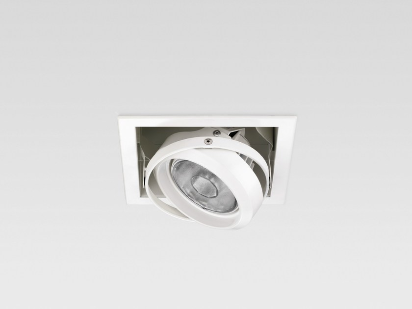Adjustable recessed spotlight MOSAICO - Reggiani Illuminazione