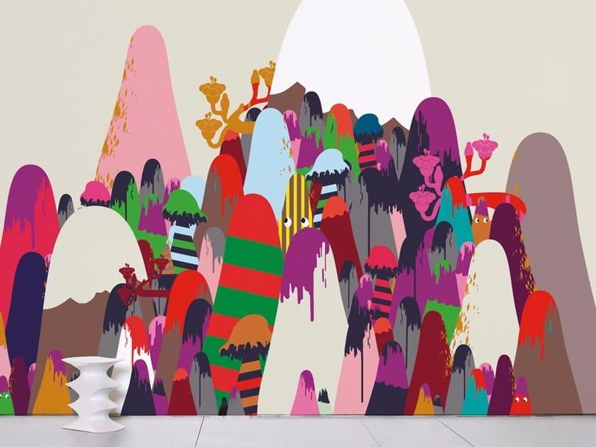 Wallpaper MOUNTAINS - Moustache