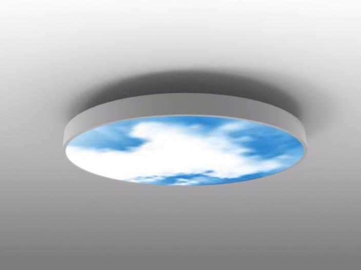 LED direct light ceiling light MOVING SKY LED LIGHTING PANEL | Ceiling light by Neonny