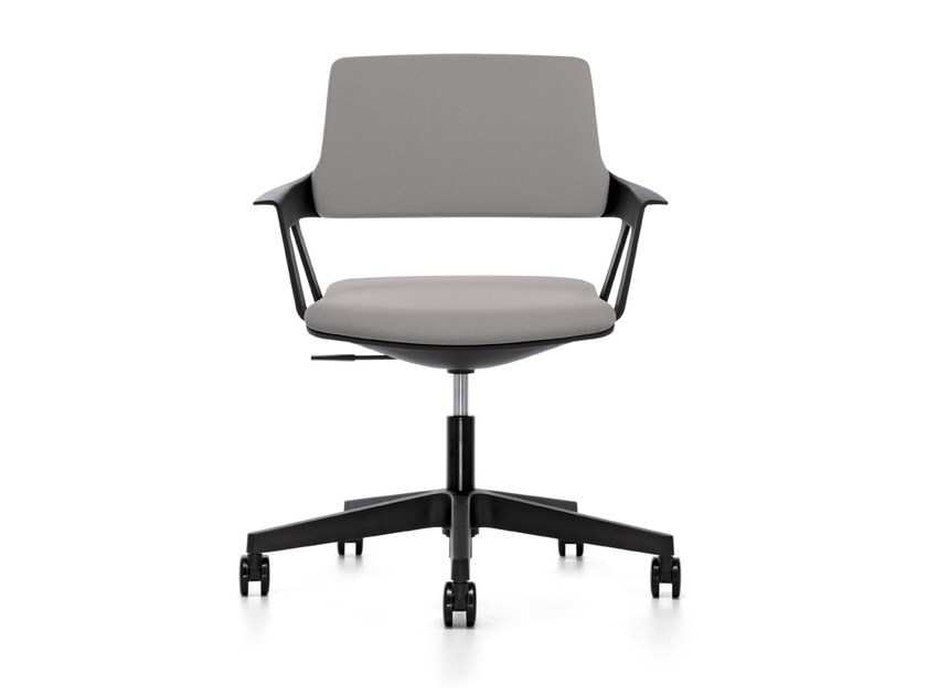 Ergonomic swivel fabric task chair MOVY IS3 16M0 by Interstuhl