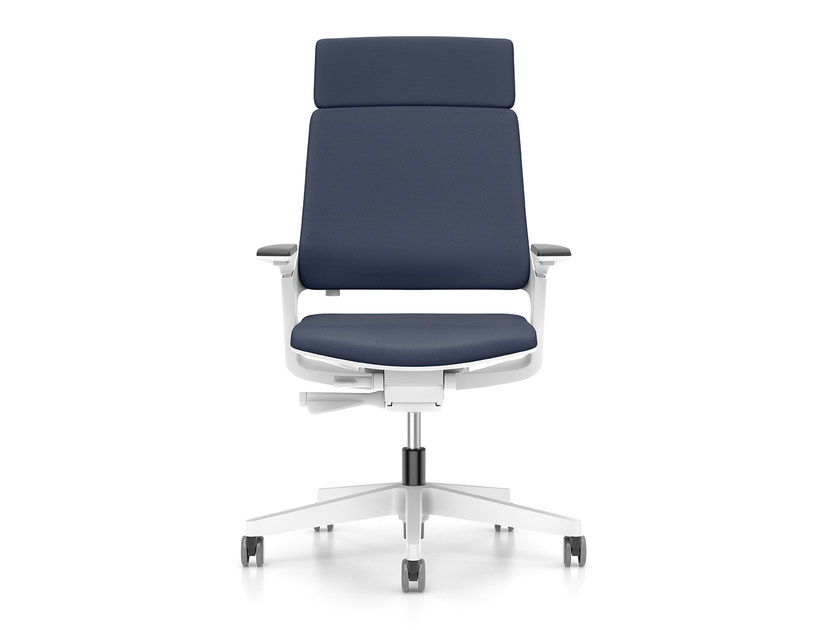 Ergonomic swivel fabric task chair MOVY IS3 23M3 by Interstuhl