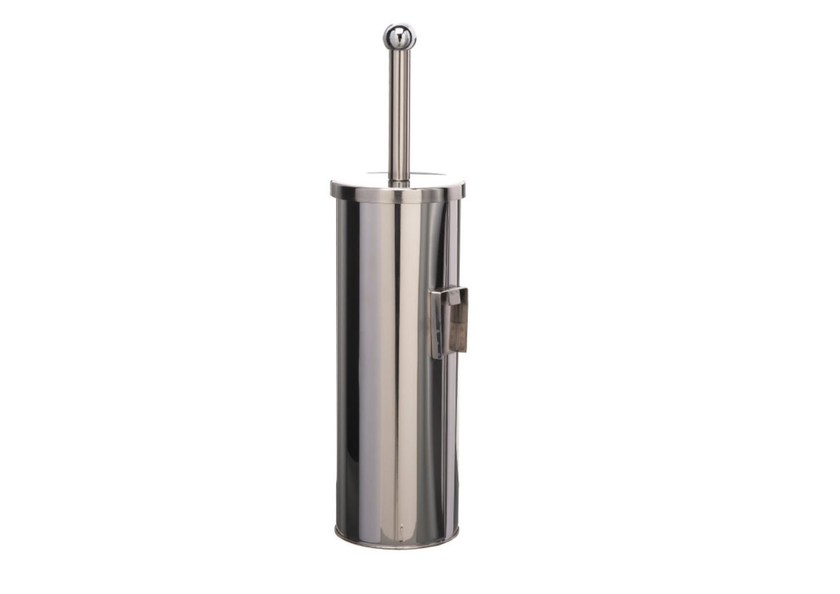 Wall-mounted stainless steel toilet brush MP817 | Toilet brush by Saniline