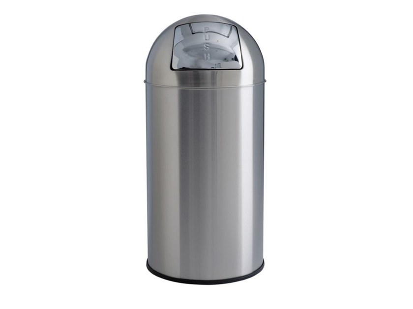 Stainless steel Public bathroom waste bin MP861 | Public bathroom waste bin by Saniline