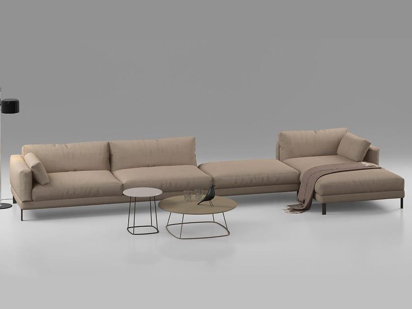 Sectional leather sofa MR JONES | Sectional sofa by ALIVAR