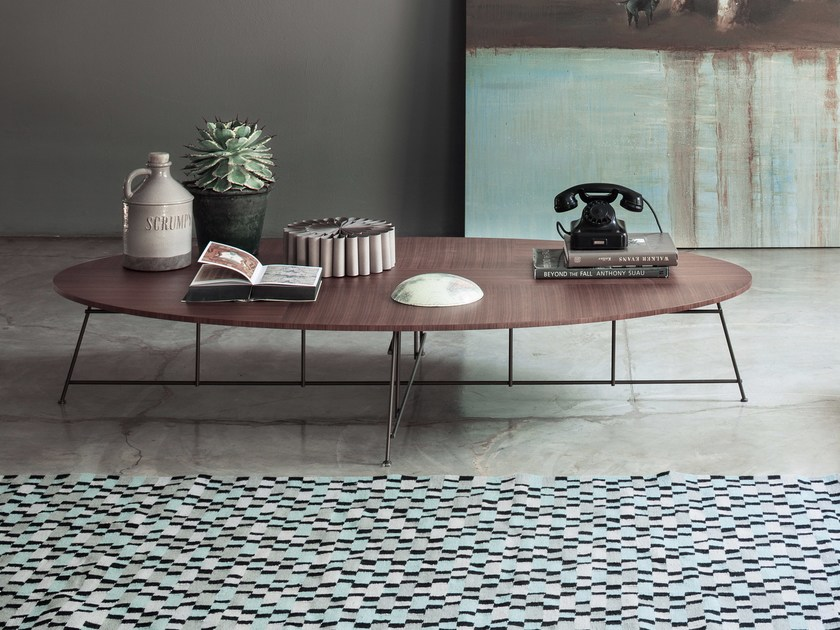 Tavolino ovale in legno MR ZHENG | Tavolino - Lema