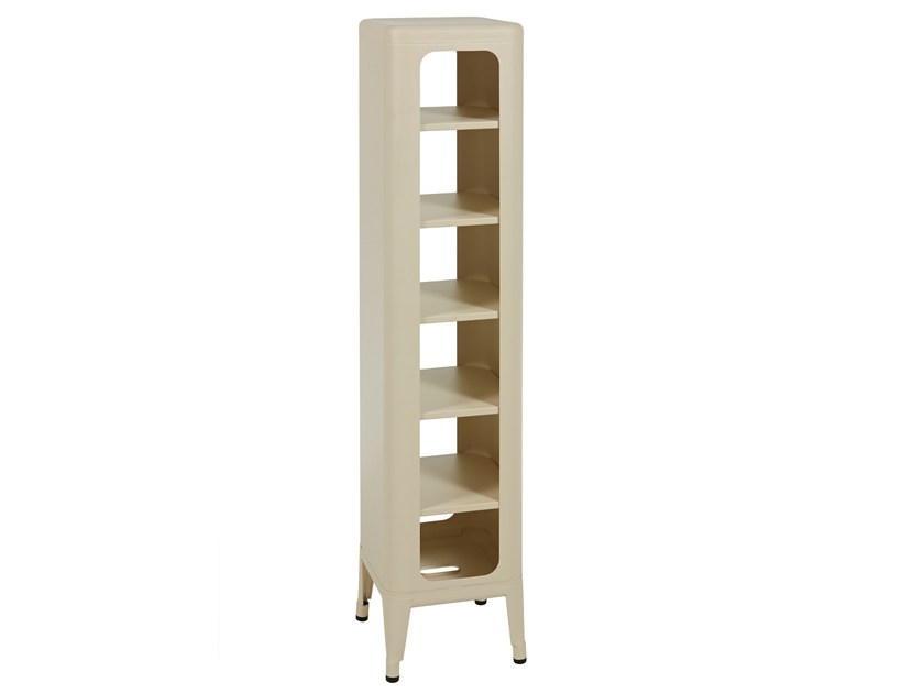 Double-sided metal shelving unit MT1335 | Metal shelving unit by Tolix