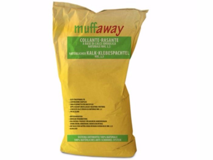 Smoothing compound muffaway® by Naturalia BAU