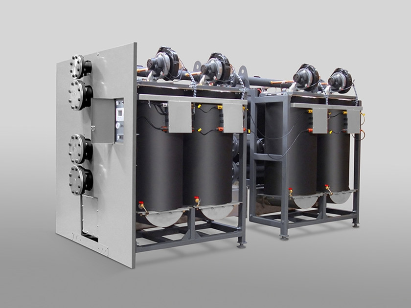 Stainless steel modular condensing modular unit MULTIINOX by Unical AG