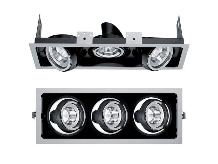 LED multiple recessed spotlight PIXEL PRO   Multiple spotlight by iGuzzini