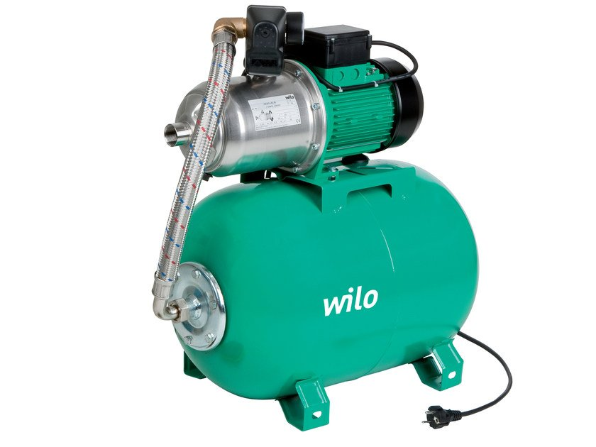 Pump and circulator for water system MULTIPRESS HMP - WILO Italia